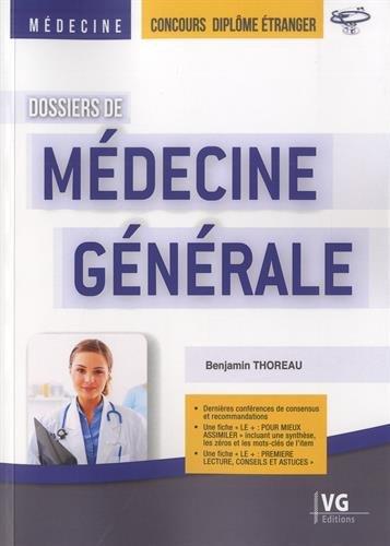 Dossiers de Médecine générale : Concours diplôme étranger