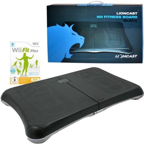 Nintendo Wii Fit Plus + Wii/Wii U Premium Balance Board schwarz inkl. Waage