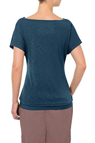 VAUDE women's skomer t-shirt pour femme Bleu - Baltic Sea