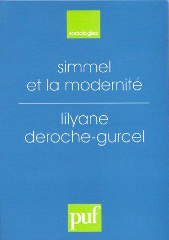 Simmel et la modernité