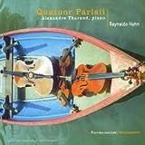 Quintette pour piano et cordes. quatuors à cordes / Reynaldo Hahn   Hahn, Reynaldo (1874-1947)