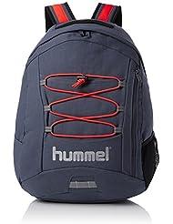Hummel Tech back pack - Ombre blue/nasturtium