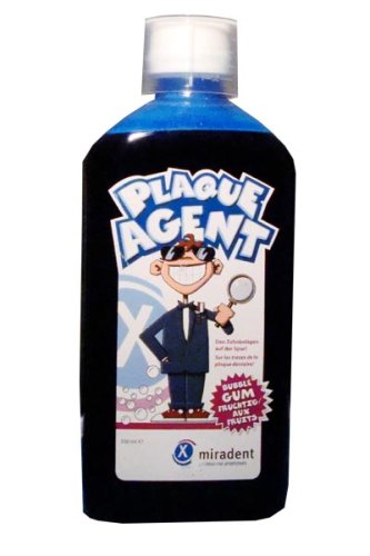 Miradent Plaque Agent enjuague bucal 500ml