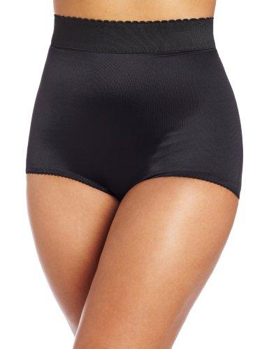 Rago Damen Slip mit hoher Taille - Schwarz - Mittel