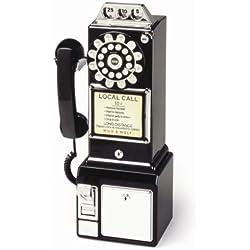 sauvage et Wolf Diner téléphone | Noir