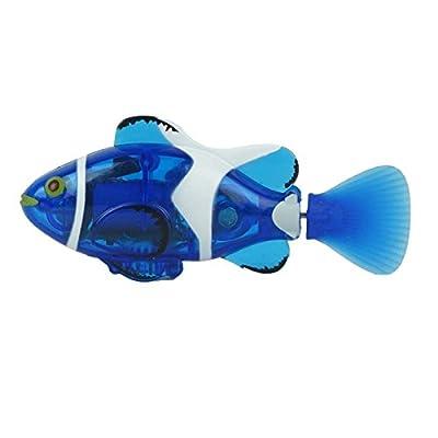 eMartMini RC Spielzeug elektrische Fernbedienung Boots-Schwimmen-Fische im Wasser für Kinder Geschenk -