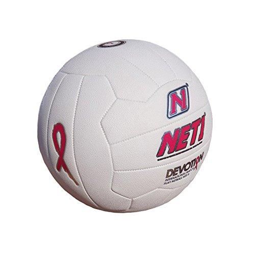 NET1 Ballon de Netball Devotion ruban Rose