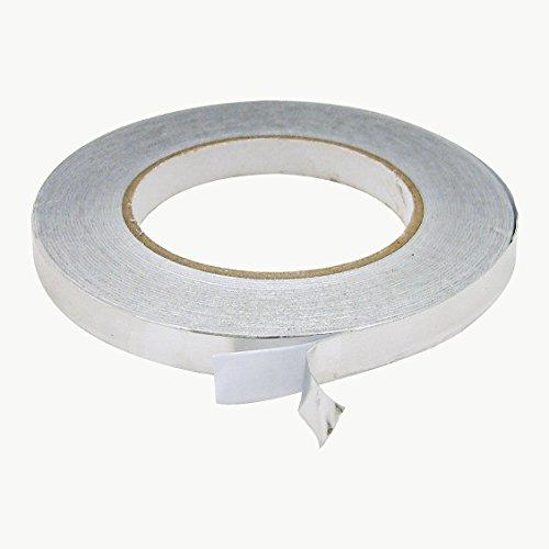 J.v. Converting AF20Aluminium Folie Klebeband, Silber - Aluminium-liner