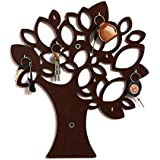 Roy Arts Wooden MDF Tree Key Wall Holder || Wooden Key Holder || Decorative Key Hanger Wall Shelf