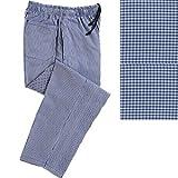 Harrogate Shop Grand Chef Denny's Bleu Blanc & cuisinier Pantalon de cuisine à carreaux Taille s à 5XL