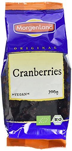 MorgenLand Bio-Cranberries, 1er Pack (1 x 200 g)