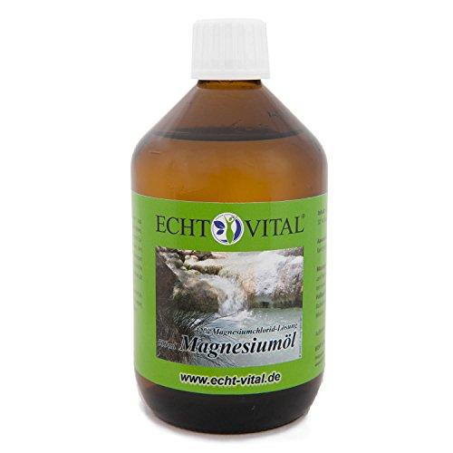 Echt Vital Magnesiumöl - aus dem Zechsteinmeer - 1 Flasche / 500 ml