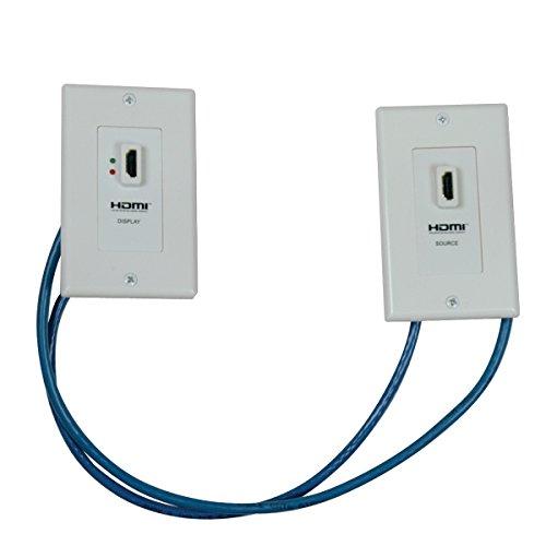 Tripp Lite P167-000 HDMI-Kabel, Apple, case, Stück: 1 Dual Tv Wall Plate