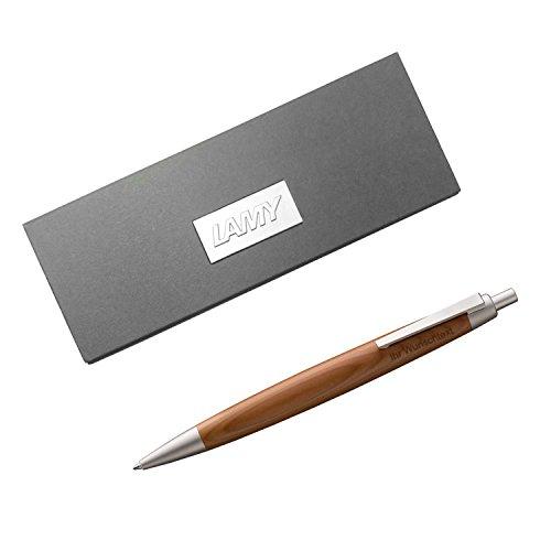 Lamy Kugelschreiber 2000 taxus Modell 203, Eibenholz, inkl. Laser-Gravur