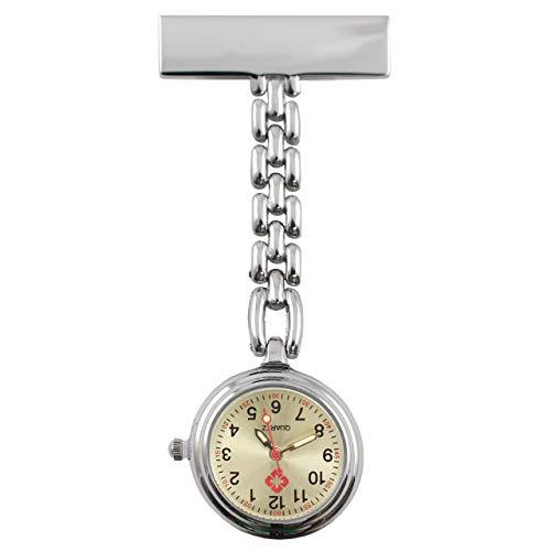 Krankenschwester Quarz Uhr Schwestern, Pfleger Quarzuhr Metall in Hochglanzoptik