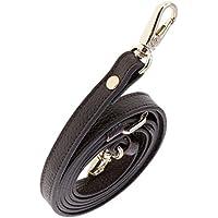 Fenteer Lederband Lederriemen Schulterriemen für Damen Taschen 110-130 cm Leder Schultergurt Umhängetaschen Trageriemen Riemen Umhängegurt