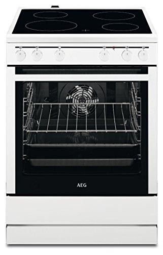 AEG 30006VL-WN 60 cm Standherd mit Glaskeramik-Kochfeld / Grillfunktion / A