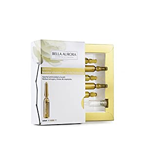 Bella Aurora Splendor Booster Vitamina C + con Ácido Hialurónico Anti-Arrugas para Mujer Tratamiento Anti-Edad Sin…