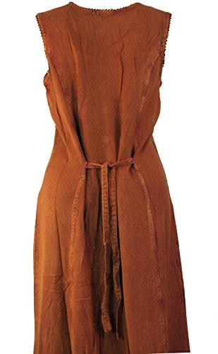 Besticktes indisches Hippie Kleid in 2 Farben / Lange Kleider Jeans