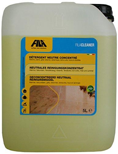 Fila Cleaner neutrales Reinigungskonzentrat für Marmor, Naturstein, Terrakotta, Cotto, Holz, Laminat 5 l. Kanister -