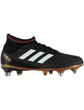 adidas Predator 18.3 SG J, Botas de fútbol Unisex niños
