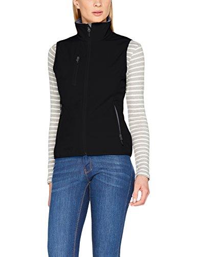 Clique Ladies Softshell Vest, Gilet da Esterno Donna Nero (Black)