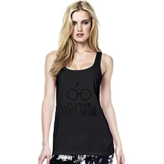 It's Gonna Be Totally Awesome Womens Continental Tunic Vest Large