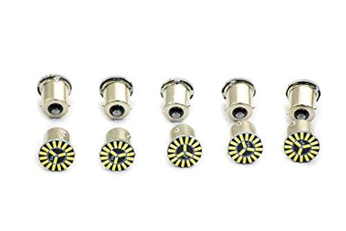 inion® (13) 10 x 19 P21 W BA15s SMD XENON blanc Lampes Lumière de frein Feu arrière