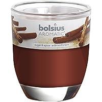 BOLSIUS Duftglas medium, Zimt & Zucker preisvergleich bei billige-tabletten.eu