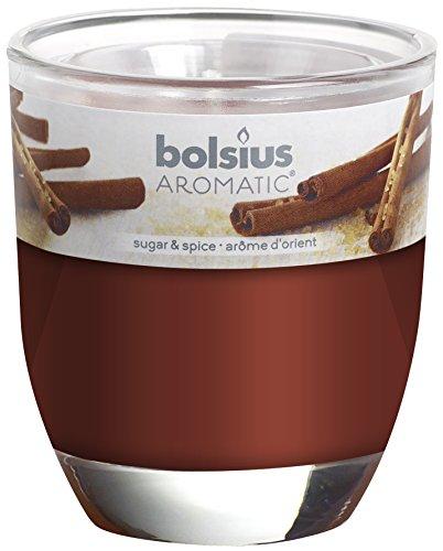 BOLSIUS Duftglas medium, Zimt & Zucker