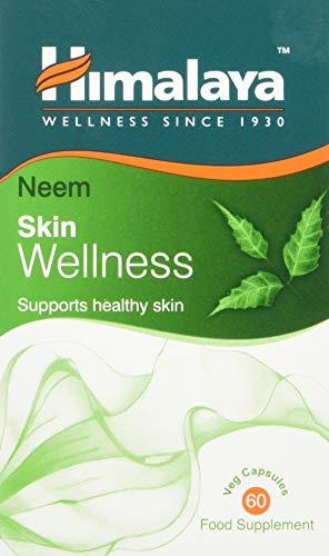 Himalaya Wellness Neem Blood Detox Integratori per ottenere la pelle luminosa e la benessere generale 60 capsule vegetariane (1-Pack)
