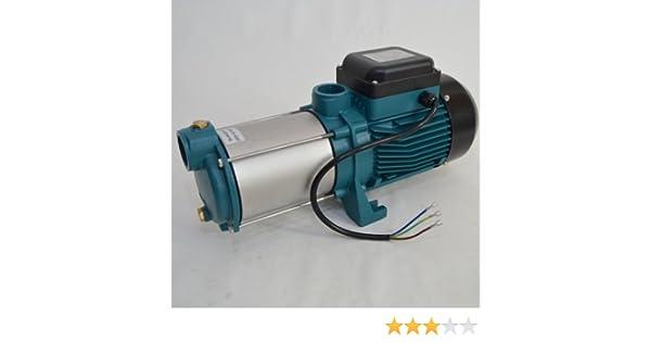 2200W Gartenpumpe Kreiselpumpe 9600 L//H schnelle Lieferung Edelstahl Jetpumpe