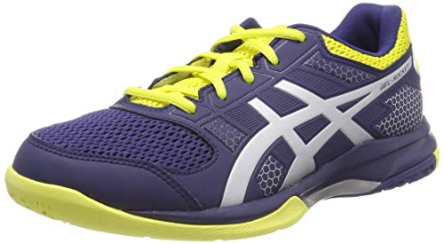 ASICS Gel-Rocket 8, Chaussures de Volleyball Homme, Multicolore (Indigo Blue/Silver 426), 42 EU