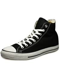 Converse Ct As Hi Canvas Core, Sneaker col roulé Mixte Adulte - Noir (M9160 Schwarz) 40 EU