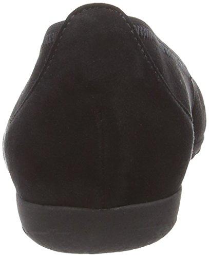Gabor 24161, Ballerines femme Noir (Black)