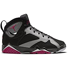 NIKE Air Jordan 7 Retro Gg, Chaussures de running fille - différents coloris - Noir