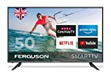 FERGUSON 50 INCH SMART LED TV WITH FREEVIEW HD, WIFI, 3 x HDMI