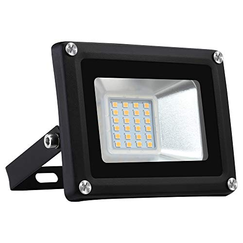 20W LED Foco proyector para exterior, LED Reflector industrial Floodlight Iluminación Decoración...