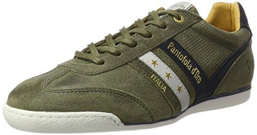 Pantofola dOro Vasto Suede Uomo Low, Scarpe Basse Uomo verde (Oliva)