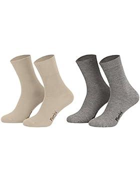 Business Socken, Anzugsocken ohne Gummibund Baumwolle   Herren Damen   8er Pack   Schwarz, Blau, Anthrazit und...