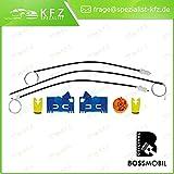2//3 o 4//5 porte set riparazione per sollevatore di finestrino alzacristalli Bossmobil Modus avanti sinistra