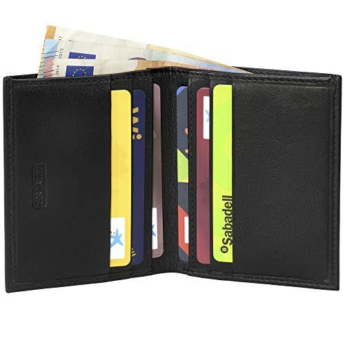 Portafoglio di pelle HEMING minimalista per carte di credito e ...