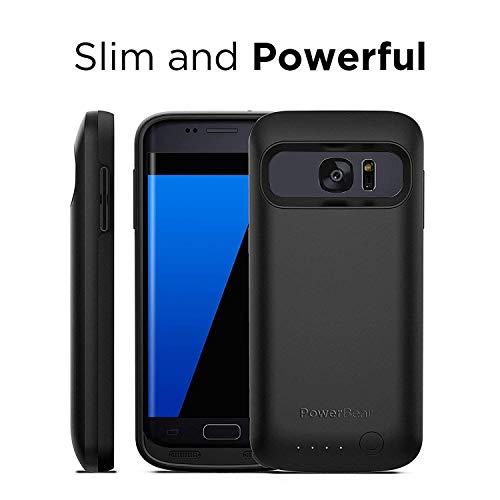 wholesale dealer 7048d e0cb1 PowerBear® Compatible With Samsung Galaxy S7 Battery Case [4,500 mAh ...