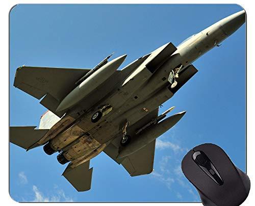 Beste Geschenkidee Mauspad, F 15 Landing Close Aviation Rutschfeste Gummibasis Mousepad - 450 Landing