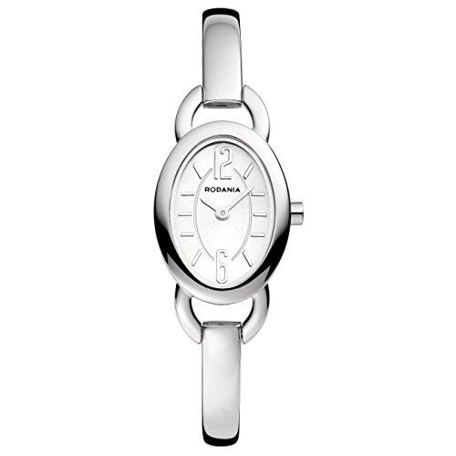 Rodania 26054–40–Uhr für Frauen, Edelstahl-Armband Silber