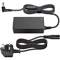 Outtag 45W 19.5V 2.31A AC Laptop Power Adapter Notebook Charger for HP Stream 11 13 14; Elitebook Folio 1040 G1; Split 13 X2; Spectre Ultrabook X2 X360 360 13t; Touchsmart 15 Tablet PC PSU w/ UK Plug AC Cord
