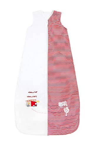 Slumbersac Kids Standard Sleeping Bag approx. 2.5 Tog - Fire Engine, 150cm/6-10 years