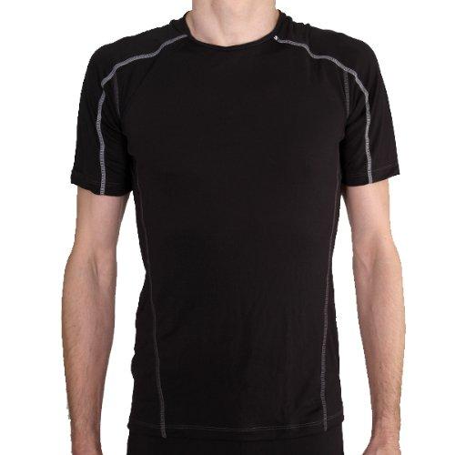 Salomon LightWeight Short Sleeve Tee Black XL