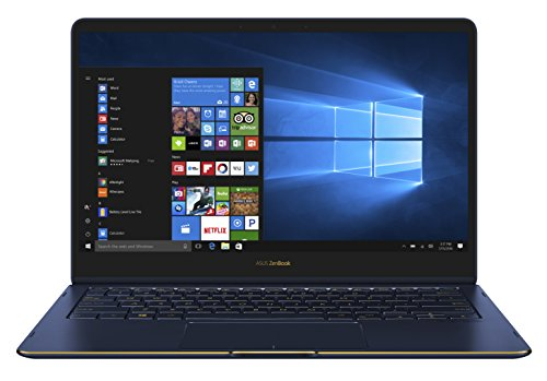 Asus Zenbook Flip S 90NB0EN1-M02350 33,78 cm (13,3 Zoll, FHD, Touch) Convertible Notebook (Intel Core i7-7500U, 16GB RAM, 512GB SSD, Intel HD-Graphics Win 10) blau