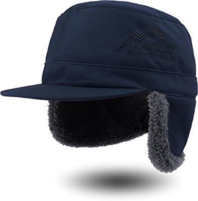 Wintermütze Cap winddicht mit Ohren- und Nackenschutz und Fleece-Innenfutter von normani bei Outdoor Shop